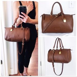 Dooney & Bourke Maple Tan Pebble Leather Satchel